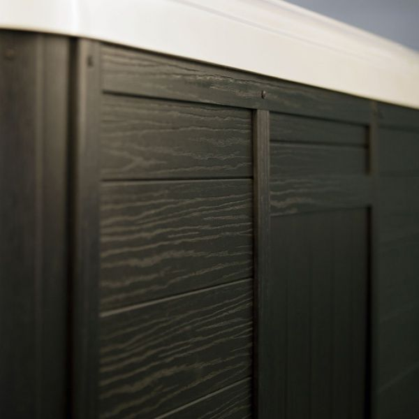 Onderhoudsvrije ombouw van panelen   Artesian Spa